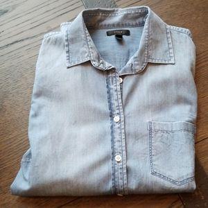 J crew denim shirt